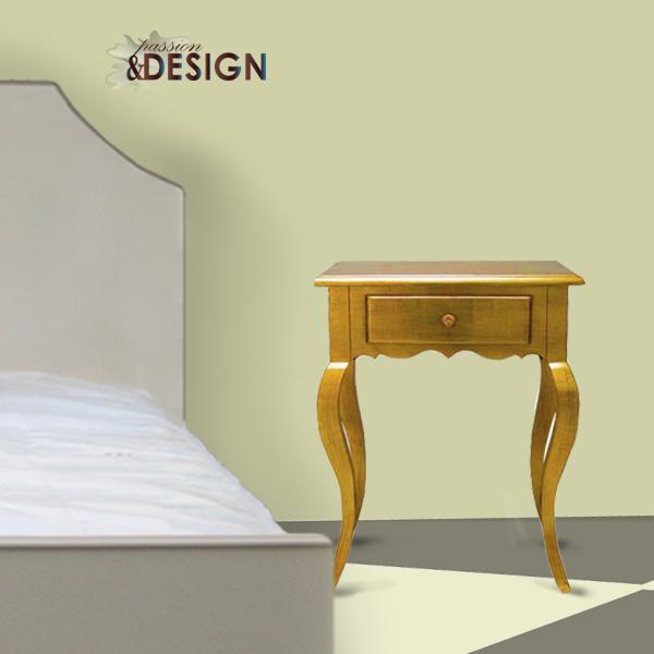z�oty stolik nocny kod kz54m passion and design design